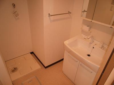 スマイルガーデン 102号室の洗面所
