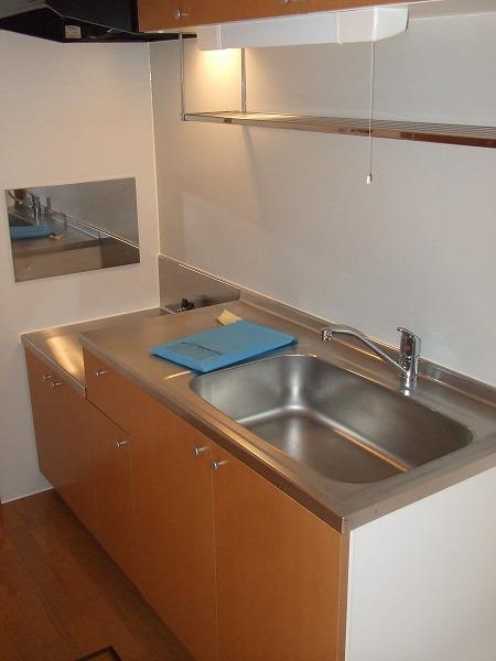 Grand Ciel 2号室のキッチン
