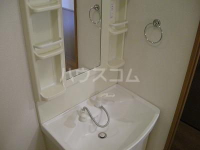 Grand Ciel 2号室の洗面所