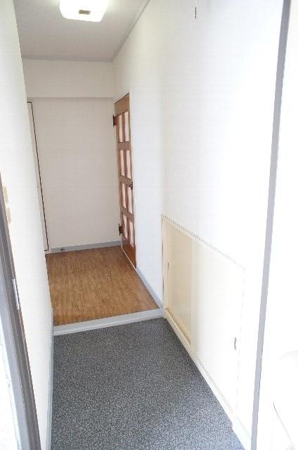 シティハイツ20 202号室の玄関