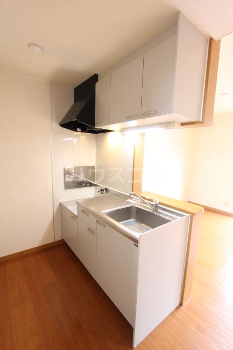 オリーブ・ハウスHIDAKA 103号室のキッチン