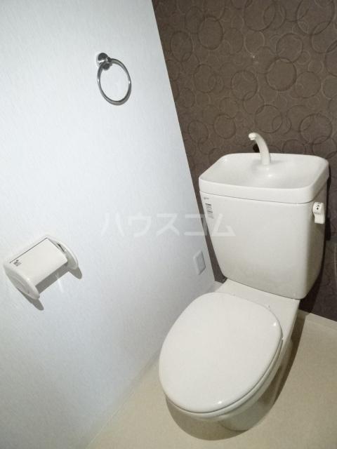 アクアスフィア 202号室のトイレ