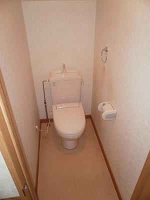 フガールのトイレ