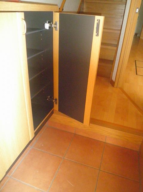 フガールの玄関