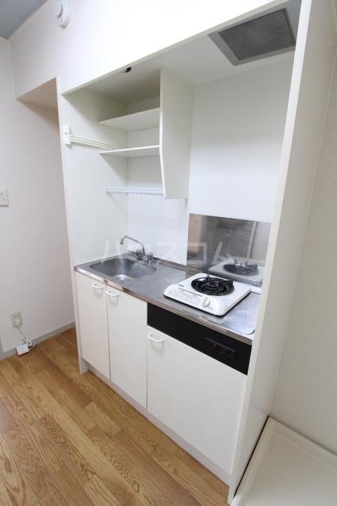 グリーンスポット95 210号室のキッチン