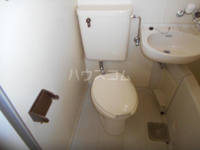 レジデンス元城 407号室のトイレ