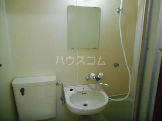 レジデンス元城 407号室の洗面所