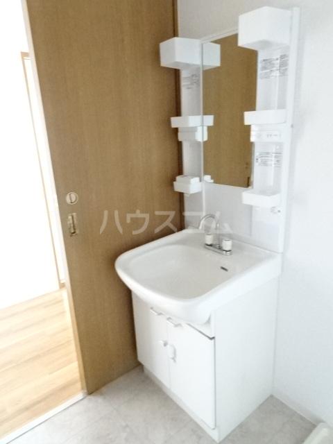 フレックス上豊田 403号室の洗面所