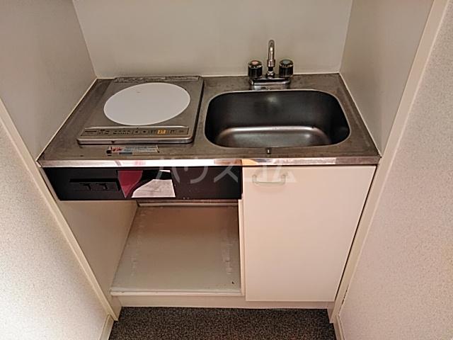 ハイドアウト園 105号室のキッチン