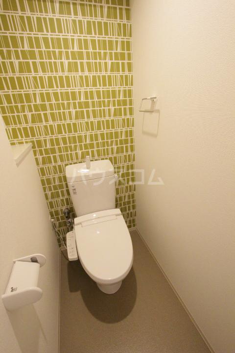 RESIDENCIA TOYOTA SAKURAMACHI 601号室のトイレ