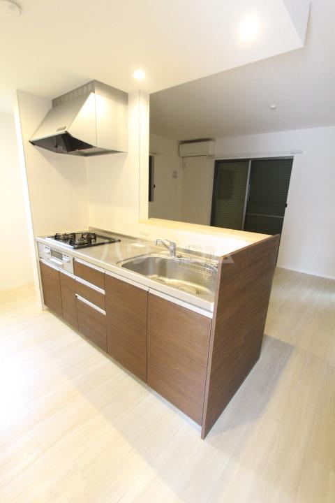 WISH A号室のキッチン