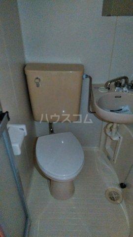 第一高木コーポ 202号室のトイレ