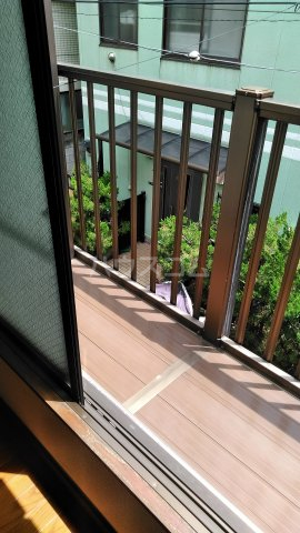 第一高木コーポ 202号室のバルコニー