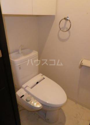 レクシオシティ王子神谷 1204号室のトイレ