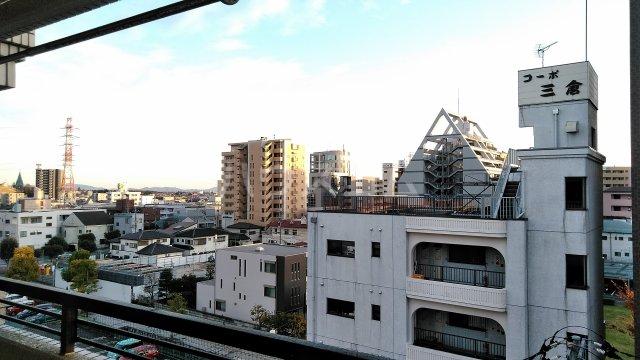 コーポ三鈴 602号室の景色