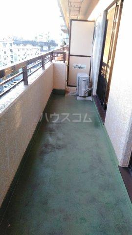 コーポ三鈴 602号室のバルコニー