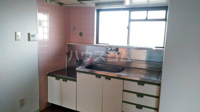 コーポ三鈴 602号室のキッチン