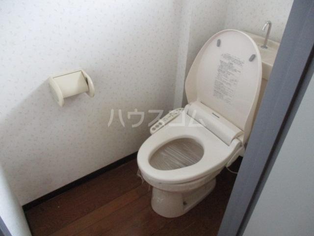 陽北ビレッジ B棟 102号室のトイレ