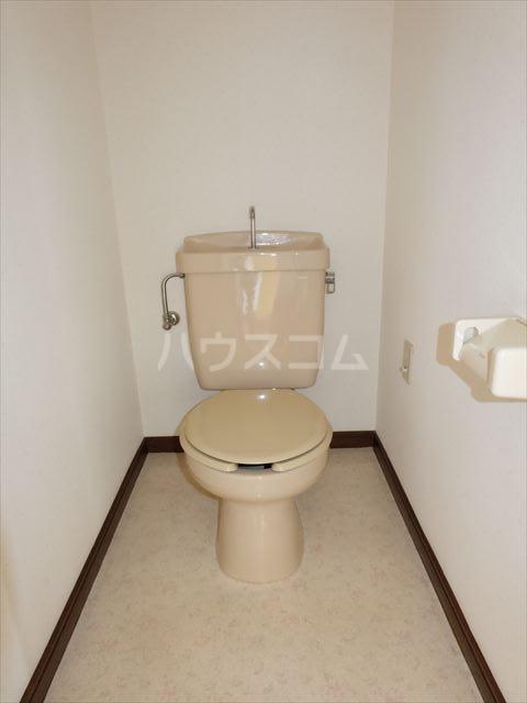 森山ハイツ 302号室のトイレ