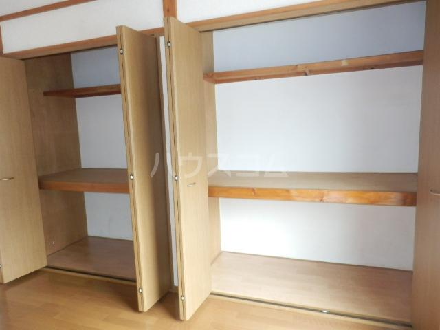 カーサー駒生 201号室の収納