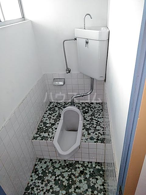 清水ハウス 12号室のトイレ