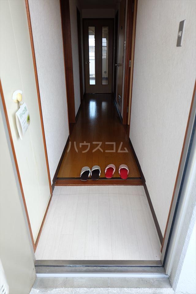 陽南イタリハイツ 202号室の玄関