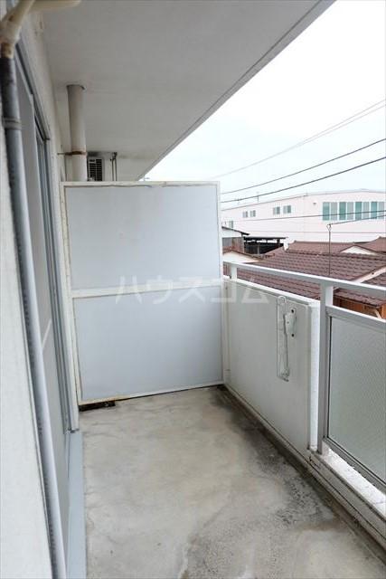 陽南イタリハイツ 206号室のバルコニー