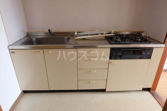 陽南イタリハイツ 206号室のキッチン