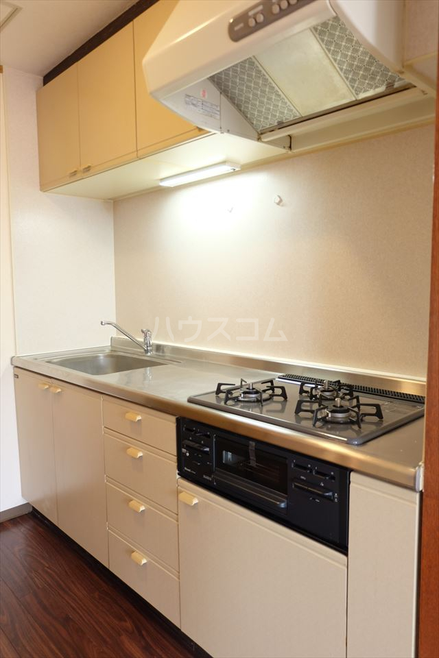 陽南イタリハイツ 304号室のキッチン