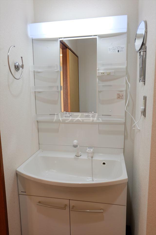 陽南イタリハイツ 306号室の洗面所