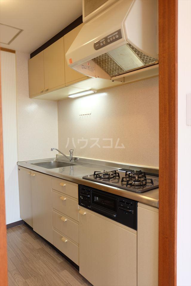 陽南イタリハイツ 306号室のキッチン