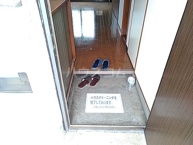 サンハイツB 2号室の玄関