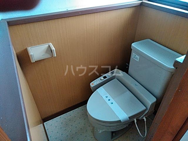 サンハイツB 2号室のトイレ