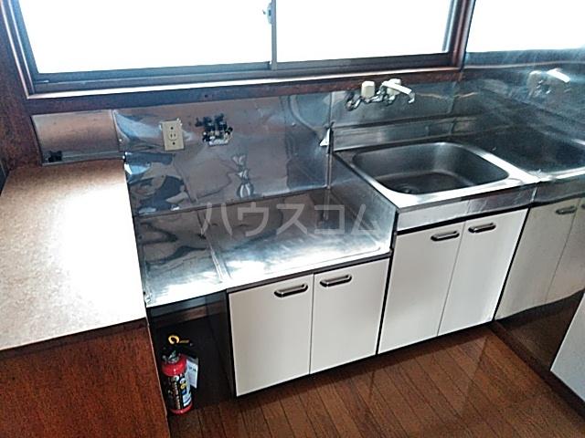 サンハイツB 2号室のキッチン