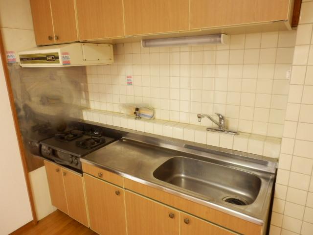 緑が丘753マンション 603号室のキッチン