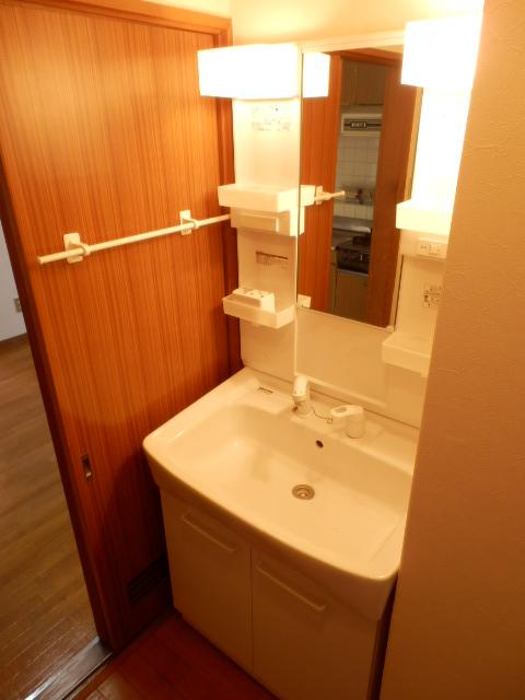 緑が丘753マンション 603号室の洗面所