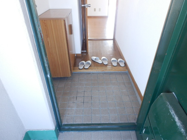 緑が丘753マンション 603号室の玄関