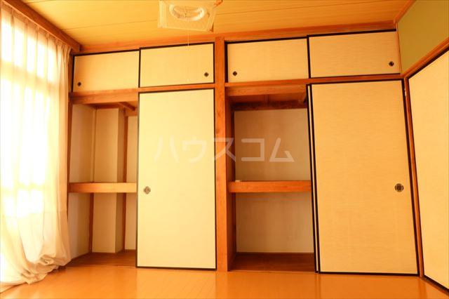シャンポール双葉 202号室の収納