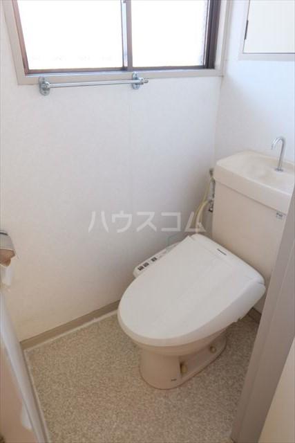 シャンポール双葉 202号室のトイレ