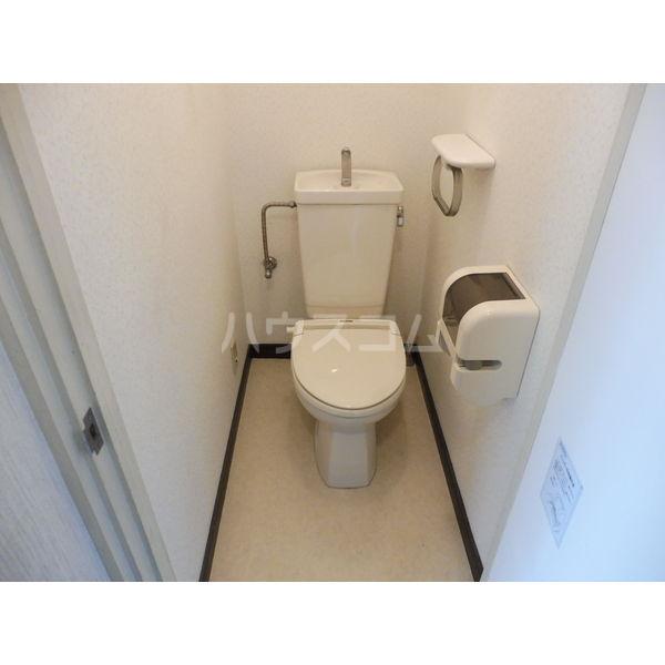 ドミール平松 507号室のトイレ
