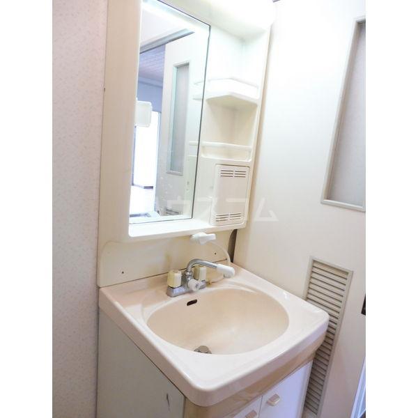 ドミール平松 507号室の洗面所