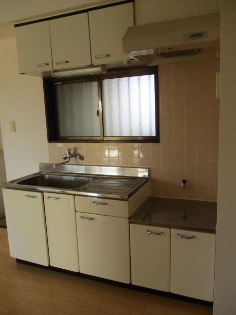 第2鬼怒ハイツ 201号室のキッチン
