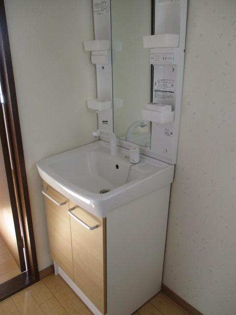 第2鬼怒ハイツ 201号室の洗面所
