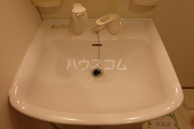 グランヴィータB 201号室の洗面所