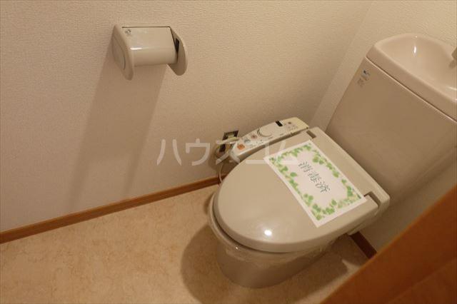 グランヴィータB 201号室のトイレ