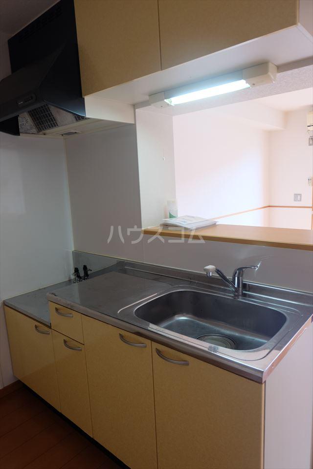 グランヴィータB 201号室のキッチン
