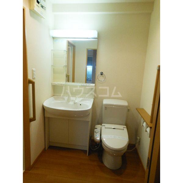 ゴールドライフマンション宇都宮 603号室の洗面所