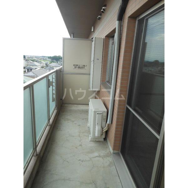 ゴールドライフマンション宇都宮 603号室のバルコニー