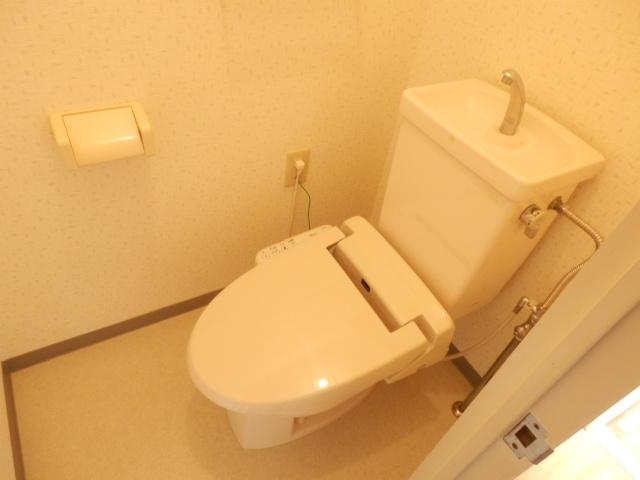 モア・グランドリーMY B 203号室のトイレ