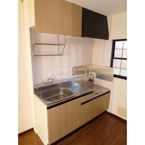 マリアージュ A棟 A102号室のキッチン